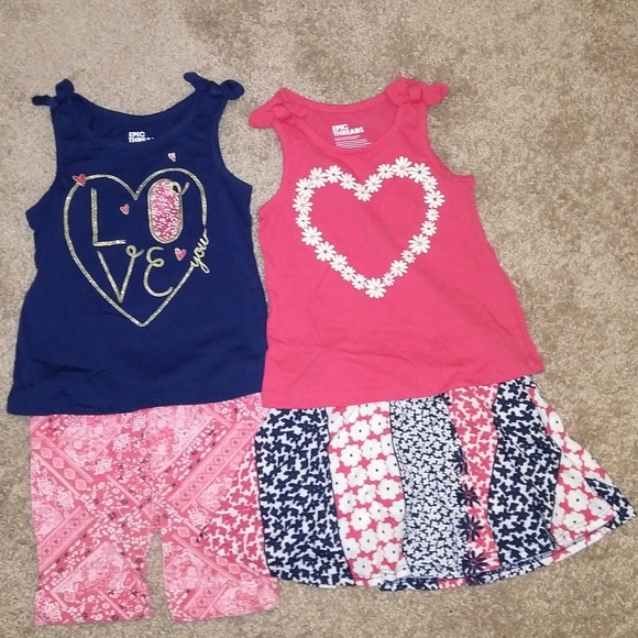 Toddler Girls Epic Threads Geo-Print Leggings Size 2T//2